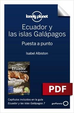 Ecuador y las islas Galápagos 7_1. Preparación del viaje - Isabel Albiston | Planeta de Libros