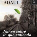 Nunca sabré lo que entiendo – Katya Adaui | Descargar PDF