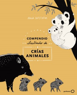 Compendio ilustrado de animales y sus crías – Maja Säfström | Descargar PDF