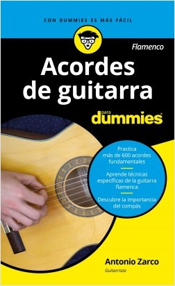 Acordes de guitarra flamenco para Dummies – Antonio Zarco Abellán | Descargar PDF