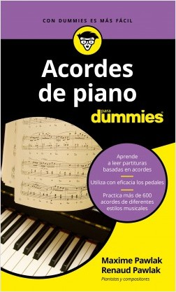 Acordes de piano para Dummies – Maxime Pawlak,Renaud Pawlak | Descargar PDF