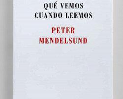 Qué vemos cuando leemos – Peter Mendelsund | Descargar PDF